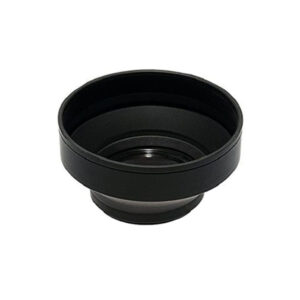 52mm Soft Rubber Camera Lens Hood