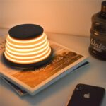 Bakeey-Wireless-Charger-Colorful-LED-Mood-Flashing-Light-for-Samsung-S8-S9-Note-8-for-iPhone8