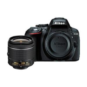 Nikon D5300 DSLR Camera with 18 55mm VR Lens
