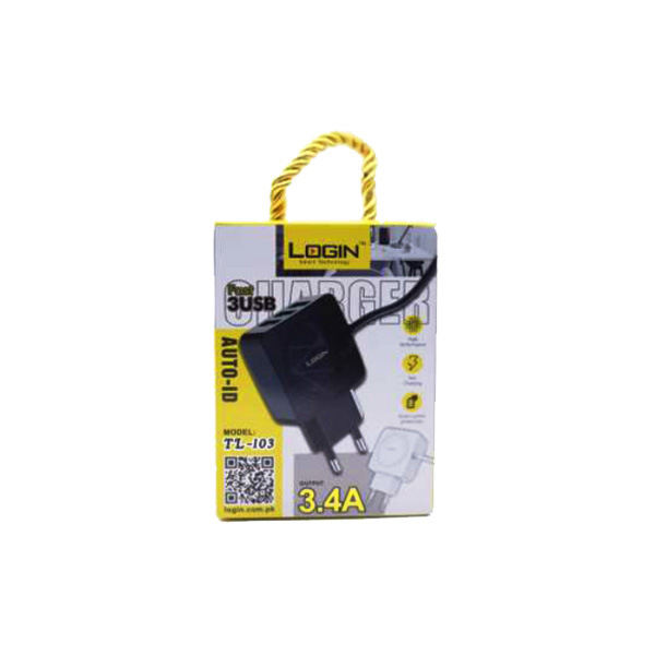 Login Smart Technology Charger LT-103