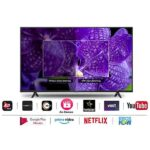 2. TCL 108 cm (43 inches) 4K Ultra HD Certified Android Smart LED TV 43P615 (Black) (2020 Model)