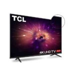 3. TCL 108 cm (43 inches) 4K Ultra HD Certified Android Smart LED TV 43P615 (Black) (2020 Model)