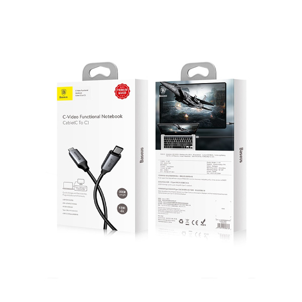 Baseus Type-C C10T Video Functional Notebook Cable C to C