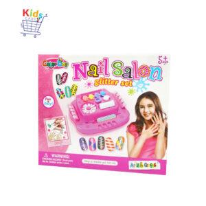 nail salon glitter set