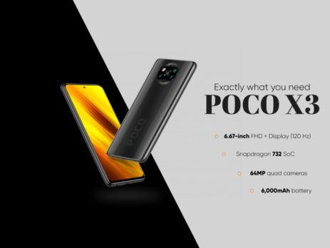 POCO X3 MOBILE PRICE