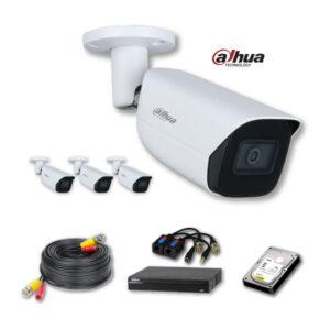 Dahua 4 CCTV HD Cameras Package