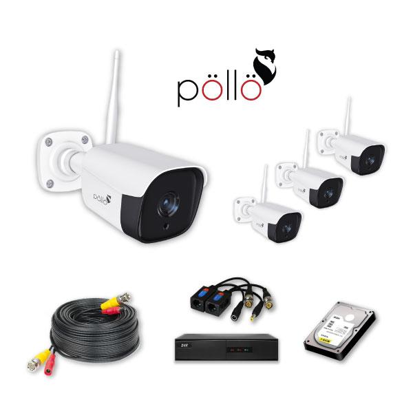 Pollo 4 CCTV HD Cameras