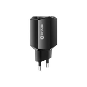 Space DUAL USB PORT WALL CHARGER WC-115 3.4A